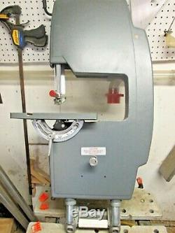 1982 Shopsmith 11 Bandsaw with 3 Blades & Manual 505641- New Tracking Bearings