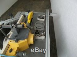 240v Cast Iron Table Saw with Sliding Carriage & Spindle Moulder Delivery Option