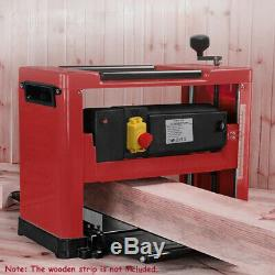 330mm Planer Thicknesser 2000w 8000rpm Bench Top Thicknesser for Woodworking Use