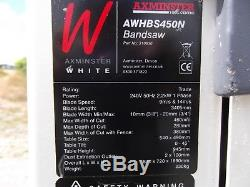 AXMINSTER WHITE AWHBS450N BANDSAW 240 Volt