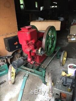 Antique Massey Harris Hit Miss Stationary Gas Engine, Type 1