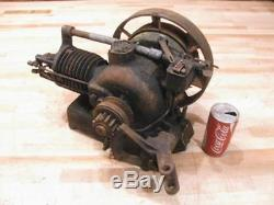 Antique Nelson Brothers HB 1/3 HP Hit & Miss Gas Engine Turns Over Needs Work