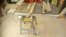 Axminster TS200 Table Saw. Saw Bench
