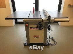 Axminster Trade Series AW12BSB2 Table Saw Bench Saw with extension kit 16A 230v
