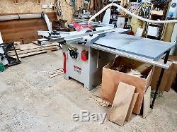 Axminster Trade Series PS315 Panel Saw very good lightly used condition