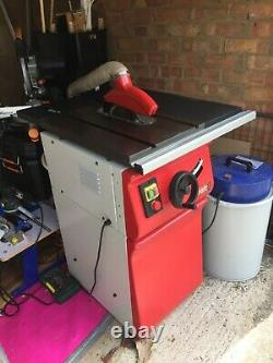Axminster craft table saw AC216TS with stand