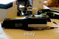 Barely used Festool Domino DF 500 Q with Festool Connector System Accessories