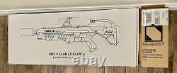 Boring Company Not A Flamethrower with Manual, $5 bill and NIB Fire Extinguisher