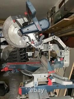 Bosch Cgm 12 Gdl Glide Mitre Saw With 2500 Stand. Excellent Condition