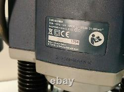 Bosch GOF1300 CE 1/4 Router 240v Variable speed Fence woodworking routing
