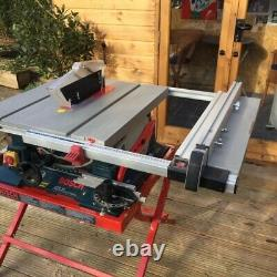 Bosch GTS 10 Professional table saw (240v) with stand