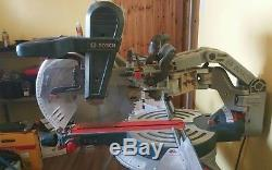 Bosch mitre saw GCM 12 GDL + Stand GTA 3800