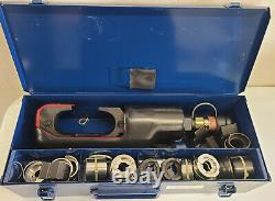 Burndy Huskie Hydraulic Crimper Compression Tool withDies EP 610H