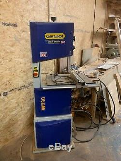 CHARNWOOD W730 14'' Woodworking Bandsaw WITH 9 DEPTH OF CUT