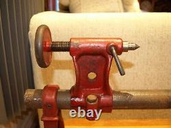 Coronet Wood Turning Lathe with Saw Table & Polishing Mop Bit of a Project