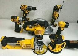 DEWALT Cordless Combo Kit 7 Tool with ToughSystem 20 Volt MAX Lithium Ion, L. N