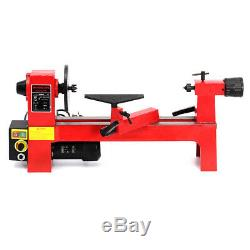 DKIEI Variable Lathe 230V Mini Lathes Woodworking Wood Turning Used Industrial