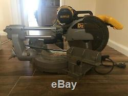 DeWalt DW708-GB 230V 7.5A Sliding Compound Mitre Saw 305mm with Stand