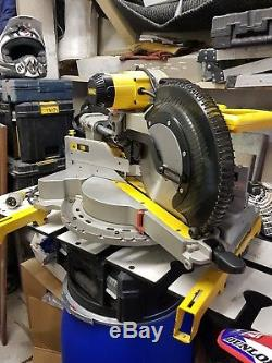 DeWalt DWS780 110v Compound Slide Mitre Saw 305mm XPS (immaculate)