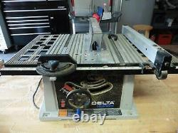 Delta 10 table Bench saw model TS 200 Shopmaster