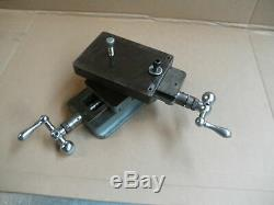 Delta Rockwell Lathe compound cross slide table milling drill press index