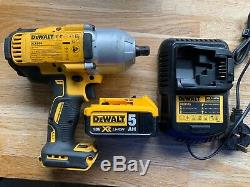 Dewalt DCF899 1/2 XR Brushless Impact Wrench + Battery and charger