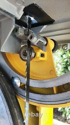 Dewalt DW738 Bandsaw For Sale used but in great condition with 2 spare blades