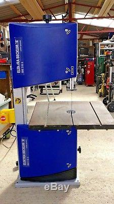 Elektra beckum bas 316 g band saw with stand, fence and extra blades
