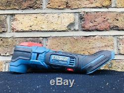 Erbauer ERH18-Li SDS Hammer Drill With Grinder, Multitool, 2x 4ahBattery, Charger
