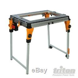 Ex-demo Triton Woodwork Workcentre Twx7-base For Saw Table &router Module 265253
