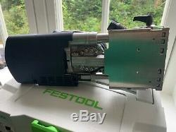 FESTOOL Domino DF 700 EQ-Plus GB 240V + Domino's + Two additional CMT cutters