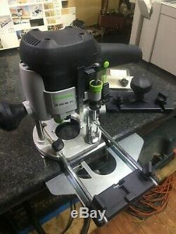 Festool 574334 OF 1010 EBQ-Plus GB 240v Router (1/4 & 8mm) Hardly used