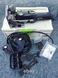 Festool DF 500 Q-Set DOMINO 574432 with accesories With Cutters assortment