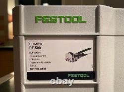 Festool DOMINO DF 500 Q-Plus 240V Joining Machine ELECTRIC CORDED BISCUIT JOINER