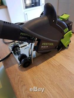 Festool DSC-AG 125 Diamond cutter with dust extraction attachment + more