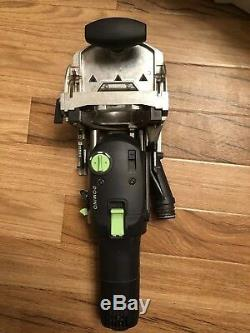 Festool Domino DF500 (240v) With Extras In T Loc Cases