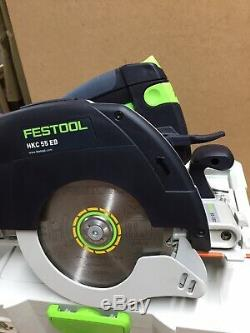 Festool HKC 55 Li EB 18v Cordless Circular Saw With Extras