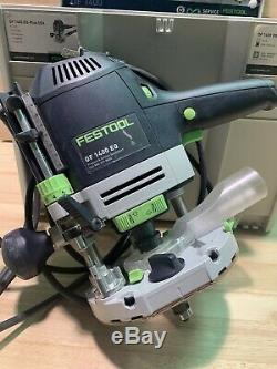 Festool OF 1400 EQ-Plus Router Very Good Condition Lightly Used
