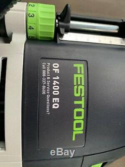 Festool OF 1400 EQ Router Kit With Systainer and few Accessories