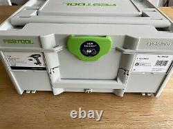 Festool T 18+3 Basic 576448 no battery or charger Excellent condition
