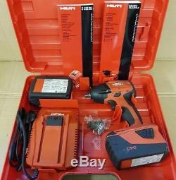 Hilti SIW 22-A Drill 21.6V 5.2Ah 1/2 Impact Wrench And Two Batteries