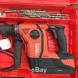 hilti te 6 a36 avr cordless sds rotary hammer drill. Black Bedroom Furniture Sets. Home Design Ideas