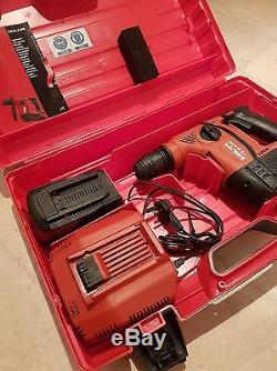Hilti TE 6-A36 Cordless Hammer Drill + 2x 36v 3.0 Ah baterrys + Fast charger