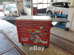 Immaculate Snap-on Limited Edition Ferocious Power' 7 Drawer Roll Cab Tool Box