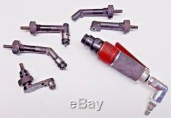 Jiffy Microstop / Angle Drill Kit with 5 different Heads Aircraft Tool