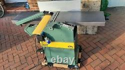 Kity 1637 Planer Thicknesser Immaculate condition 240v machine & 2.25kW motor