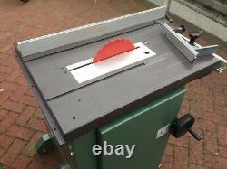 Kity 619 Table Saw with rip fence & adjustable angle guide