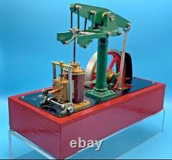 Live Steam Model Beam Engine By Clive Norris Steamers Runs Excellently