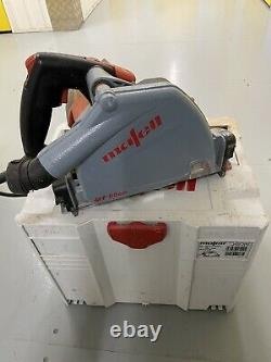 MAFELL MT55CC Plunge Circular Saw w ith Guide Rail and Clamp 240V