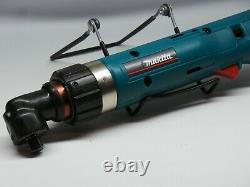 Makita 6704D Right Angle 3/8 Drive Torque Wrench Ratchet With Battery Case Mint